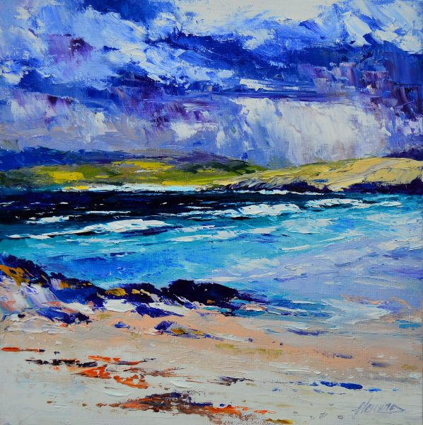 5.Distant Spring Squall, Cleat Beach, Barra