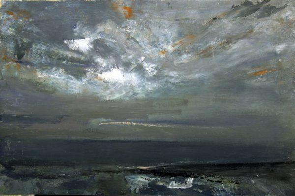 8_Lil Neilson_Original_Oils_Storm Sky,Catterline_16 x 24
