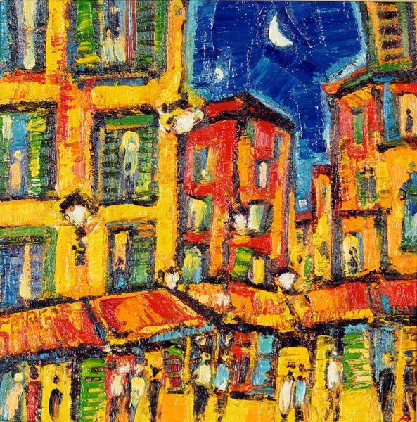 Charles Monteith Walker_Original_Oils_Night in Nice_.JPG
