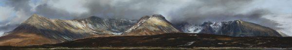 Fiona Haldane_Pastel_Moments of Light, Glenbrittle, Skye_image size 8x42