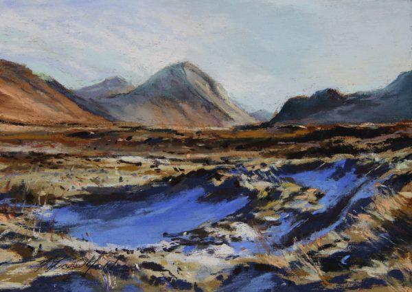 Fiona Haldane_Towards Marsco, Skye_image size 5x7