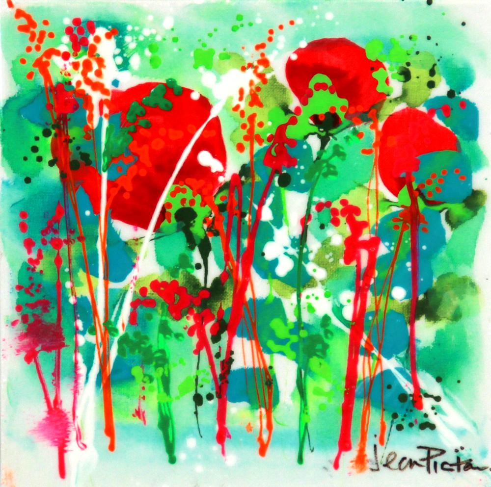Floral Abstract Eduardo Alessandro Studios
