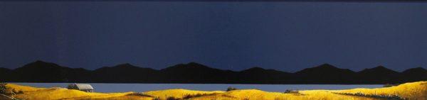 John Russell_Original_Acrylics_Croft, Hebrides II_15x40