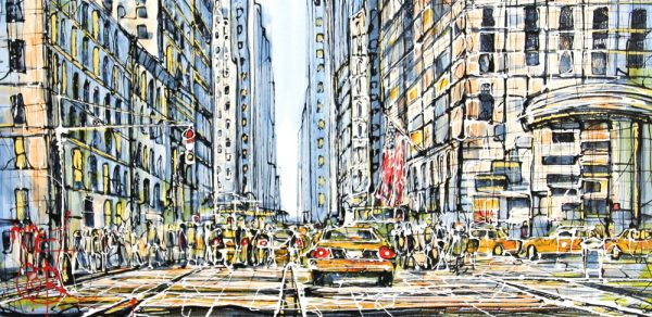 Nigel Cook_NYC_Acrylics_17.5x35.5