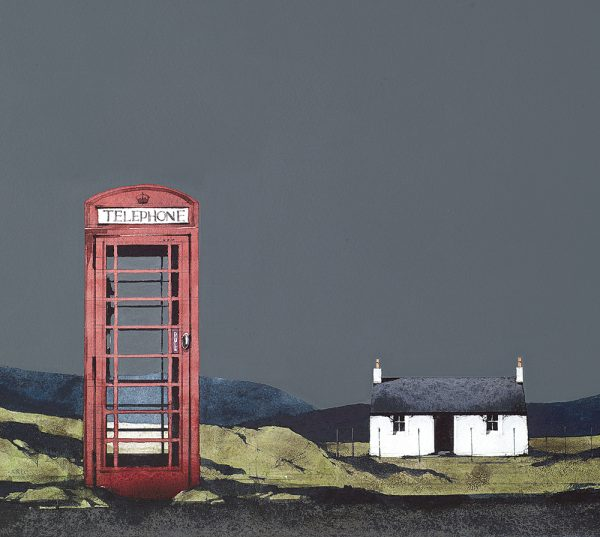 Ron Lawson_RL11_The Old Phonebox, Barra_Image Size 178x203mm