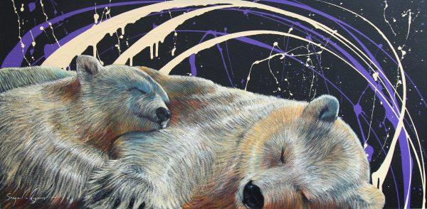 Simon Wright_Original_Acrylics_Under the Stars
