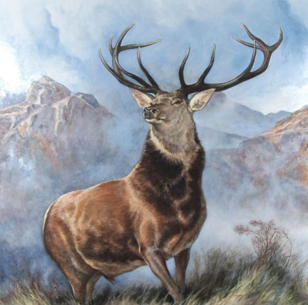 Wayne Strachan_Monarch of the Glen_Oils_47x47_57.5x57.5