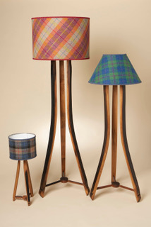 Whisky Stave Lampshades