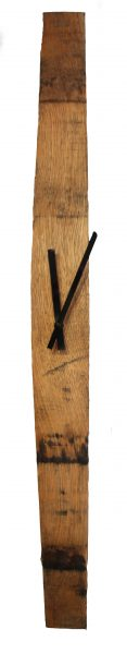 Whisky Stave Clock