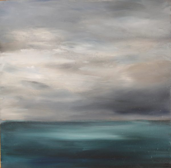 Kate Cunningham_Oils on Board_Tempest_12x12_£199
