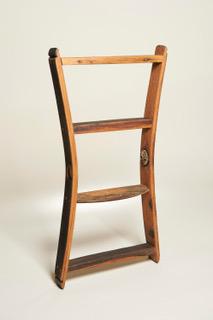 Whisky Barrel Stave Wall Shelf - Large