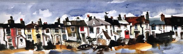 Sue Howells_Ship at the shore_8x26WEB