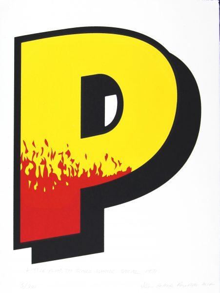 Beano Letter P
