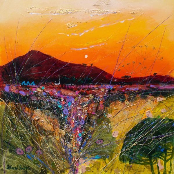 Deborah Phillips_Cinnebar Sunset_Acrylic_20x20