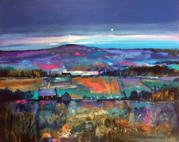 Dugald Findlay_Day's End_Mixed Media_23.5x29