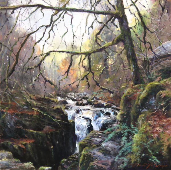 Fiona Haldane_Pastel_Winter Light, The Hermitage_12x12