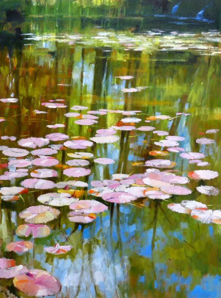 Jack Morrocco_The Lily Pond_Oil_40x30