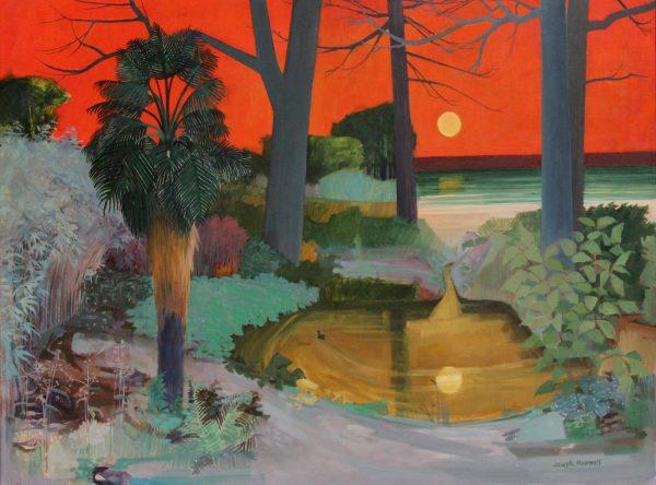Joseph Maxwell_Oils_Red Sky, Culzean_30x40