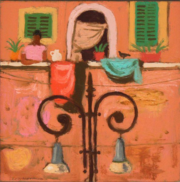 Leon Morrocco_Terracotta_Oil_7.75x7.75
