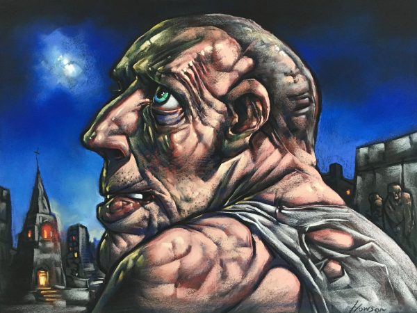 Peter Howson_Buster_Pastel_18x24