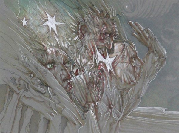 Peter Howson_Vision of Behmen_9x12