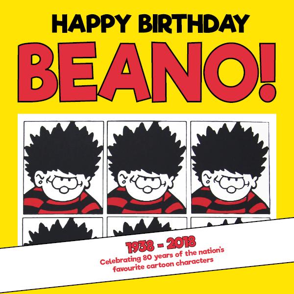 Happy Birthday Beano!