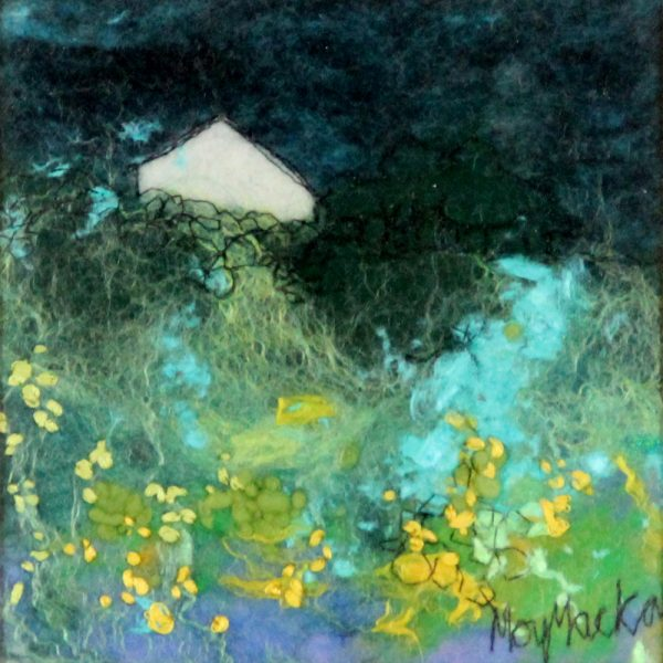 Moy Mackay_At the Glen_Felted Merion Wool_6x6