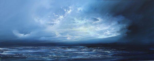 Philip Raskin_Original_The Blue Isles, Hebrides_24 x 60