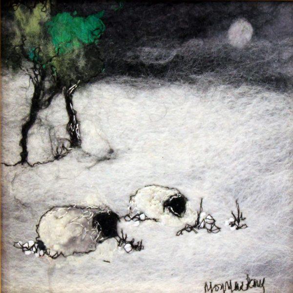 Moy Mackay_Original_Felted Merino Wool_ Winter Cheviots_ 6x6_