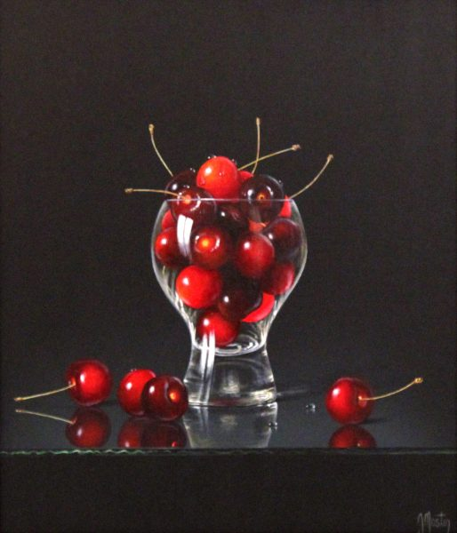 Ian Mastin_Cherries For All_Acrylics