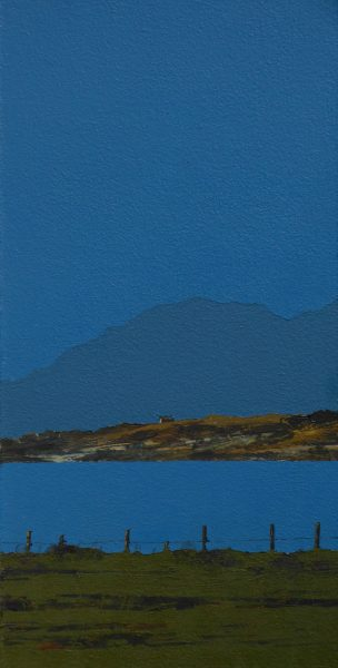 John Bell_Ardpatrick Point and Jura from Clachan_Acrylics_12x6