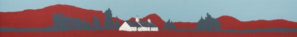 John Bell_Blackrock, Glencoe_Acrylics_7.5x59.5