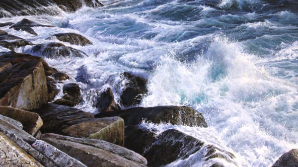 Marc Esteve_Sound of the Sea I_Oils_15x30