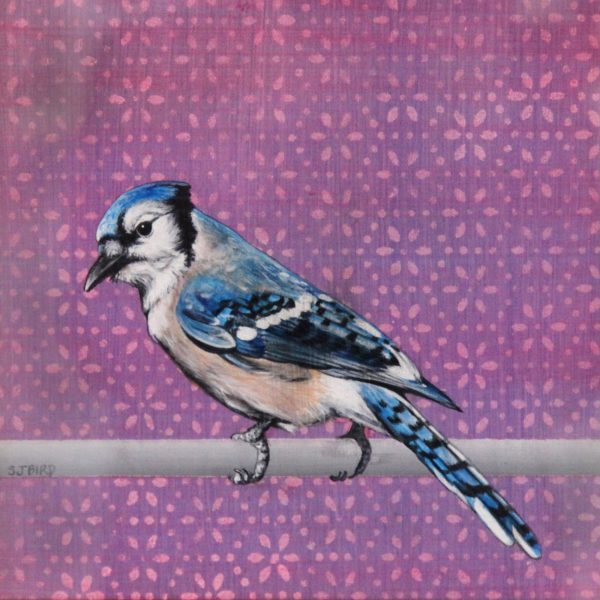Stanley Bird_Blue Boy_Acrylics_9x9