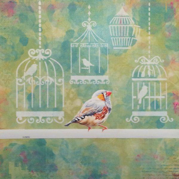 Stanley Bird_No Going Back_Acrylics_12x12