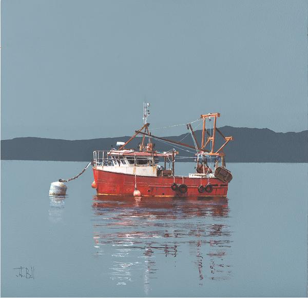 BEL05_John Bell_Lobster Boat, Argyll