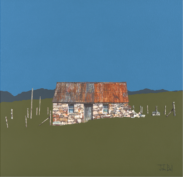 BEL07_John Bell_Fisherman's Bothy, Cuil Bay