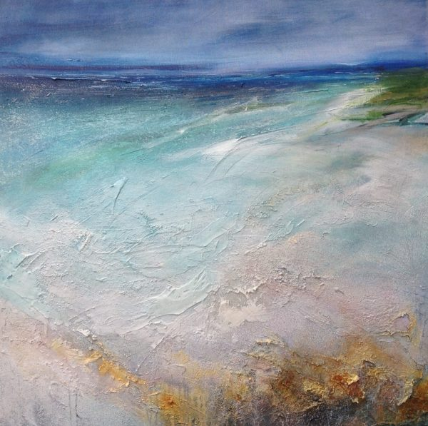 Beverley Waller_From the Shore_Mixed Media_39.5x39.5