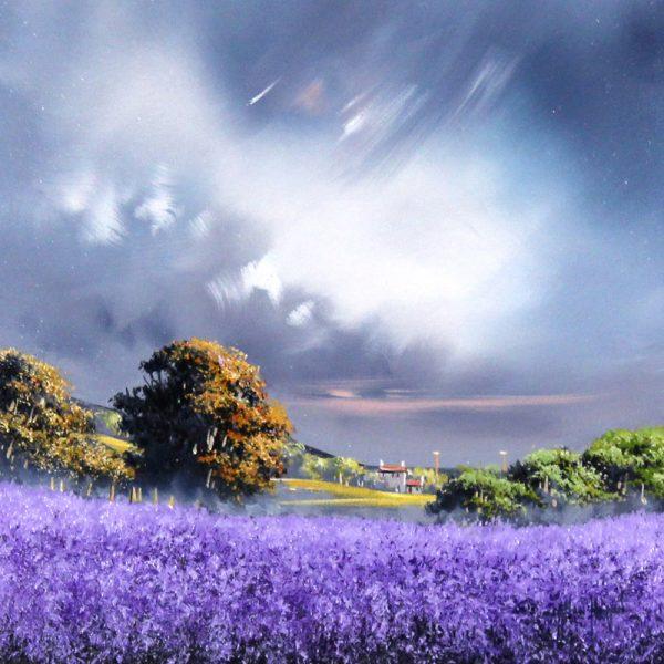 Alan Morgan_Harvest (Purple)_Oil_12x12