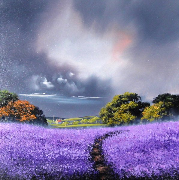 Alan Morgan_Harvest (Purple)_Oil_16x16