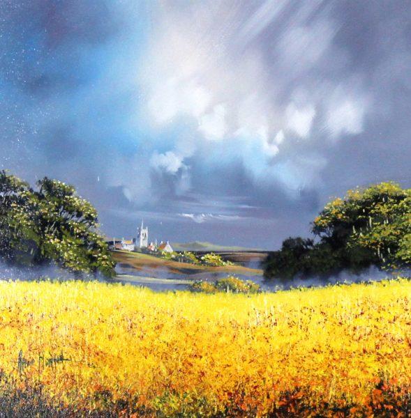 Alan Morgan_Harvest (Yellow 2)_Oil_12x12