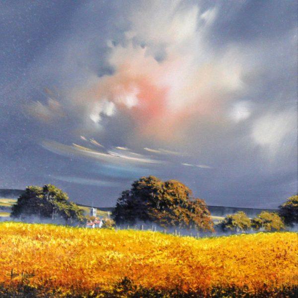 Alan Morgan_Harvest (Yellow)_Oil_16x16