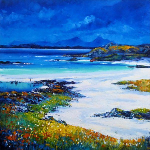 Jean Feeney_From the Shore, at Sanna Bay_Oil_31.5x31.5.jpg