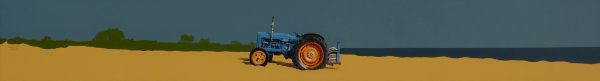 John Bell_Acrylics_Fordson Major, East Haven, Carnoustie_8x60