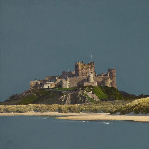 John Bell_Bamburgh Castle_Acrylic_24x24