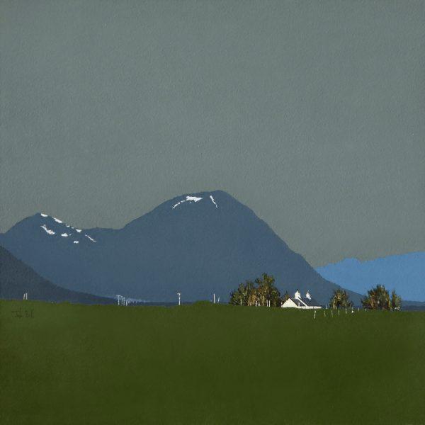 John Bell_The Buachaille Etive Mor and Blackrock_Acrylic_18x18