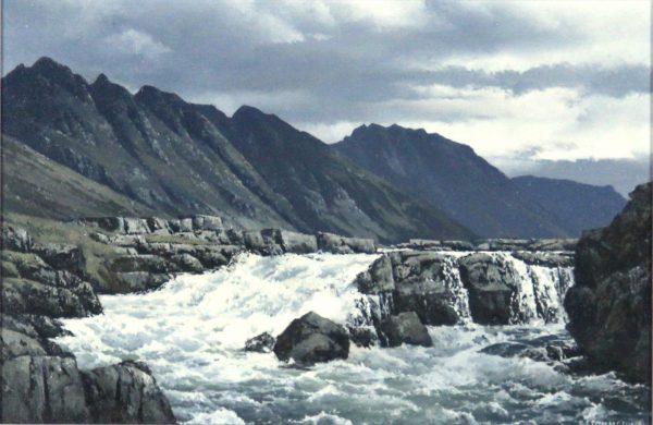 Ian Johnstone_The Adnach Eagaen Ridge, Glencoe_Oil_7.5x11.5