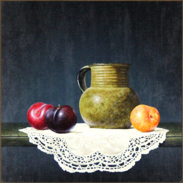 Ian Mastin_Mixed Plums_Oil_12x12