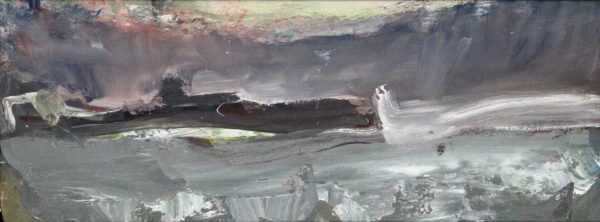 Lil Neilson_Rough Seas_Oil_9x23.5