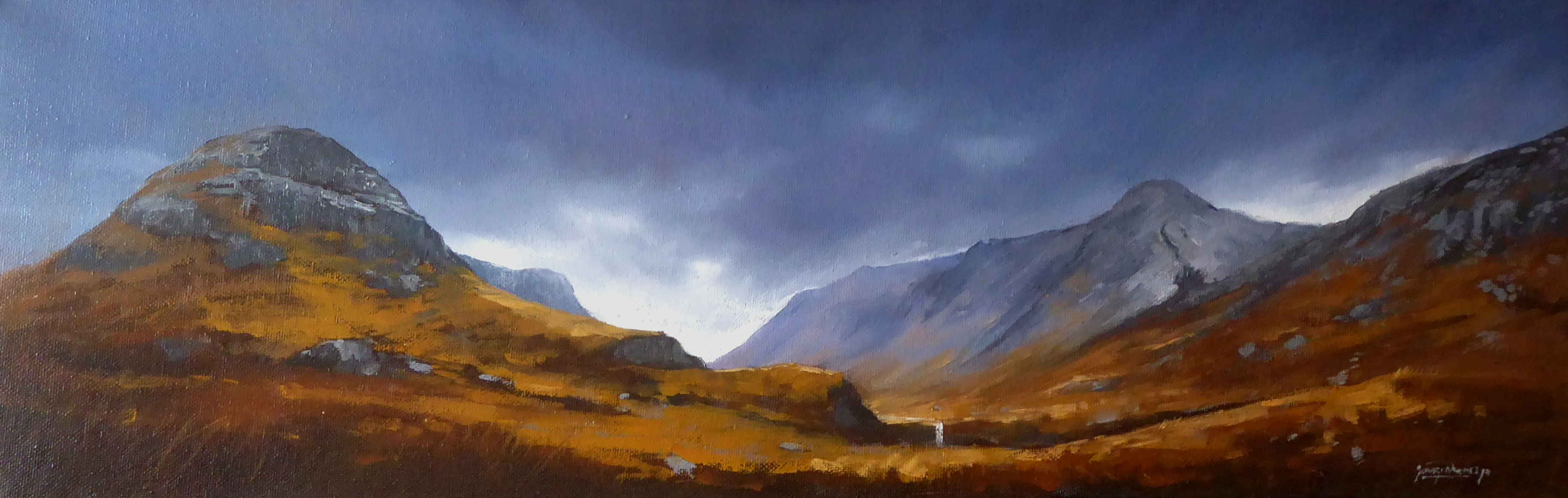 George Noakes_Autumn Glen Coe